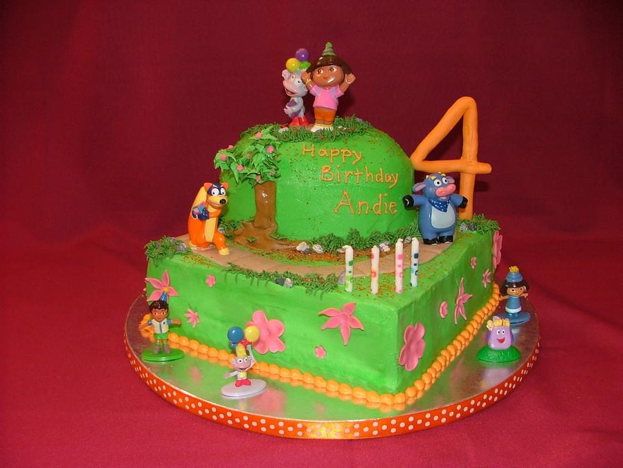 Dora's Birthday Parade on Cake Central