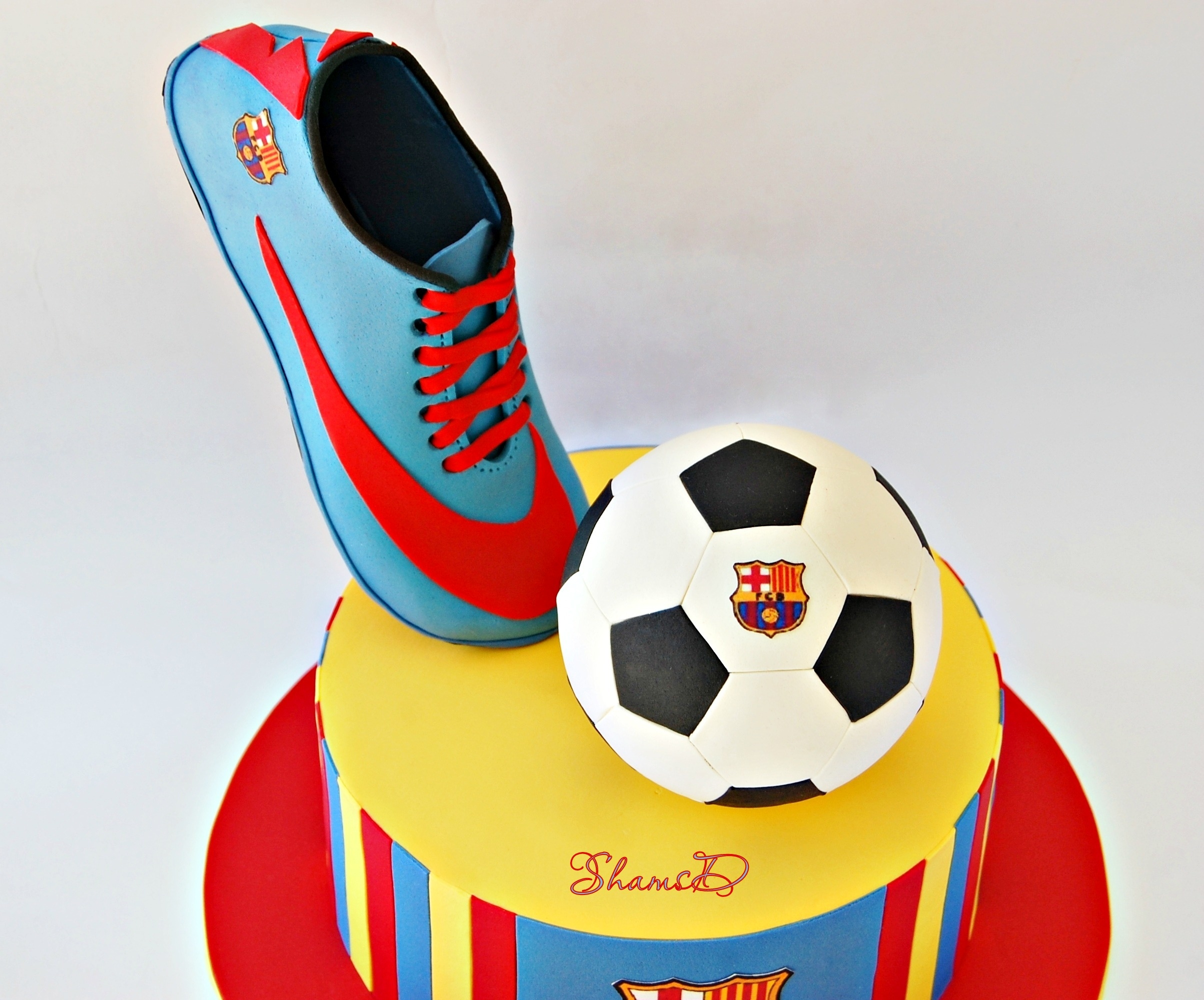Soccer Birthday Cake Photos
