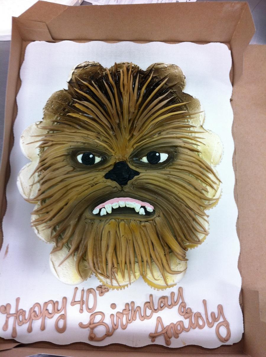 Chewbacca Cupcake Cake Cakecentral Com