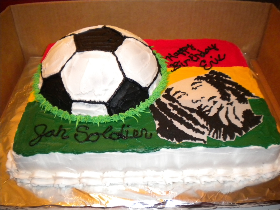 Bob Marley on Cake Central