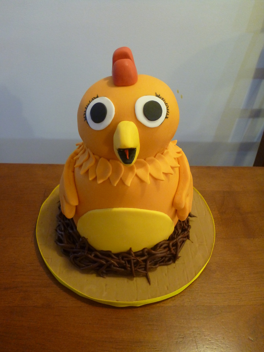Chica Pbs Sprout On Cake Central