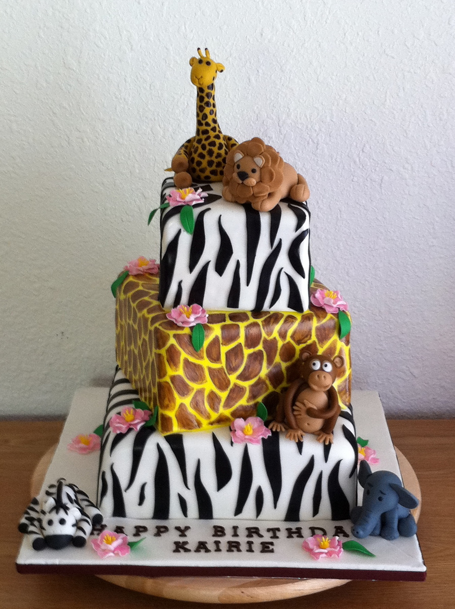 Jungle Theme 2Nd Bd Cake on Cake Central
