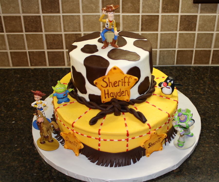 Toy Story Sheriff Cake on Cake Central