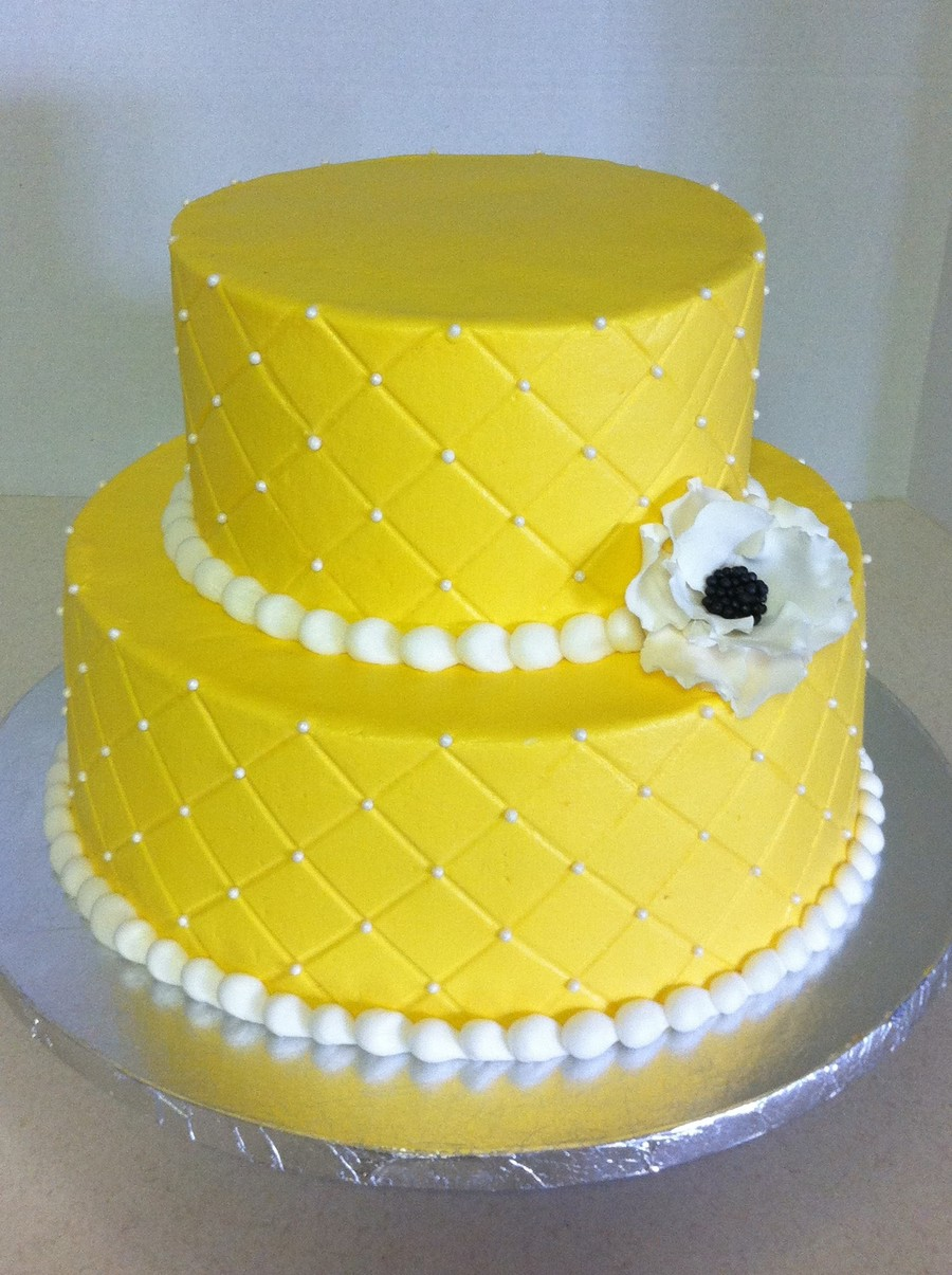 Quilted Bridal Shower on Cake Central
