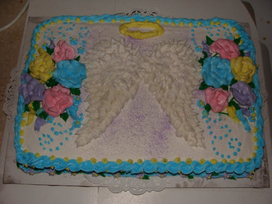 Angel Wings on Cake Central