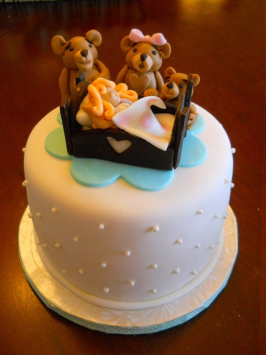 """gingerlocks"" And The 3 Bears on Cake Central"
