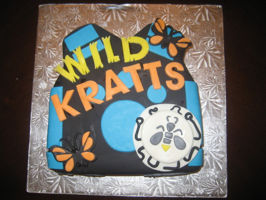 Wild Kratts! on Cake Central