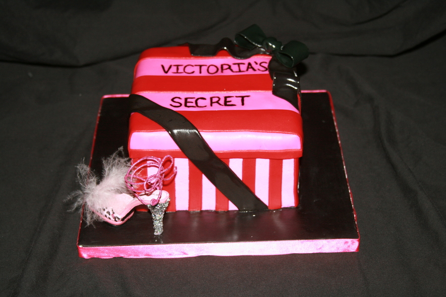 Victoria's Secret Box on Cake Central