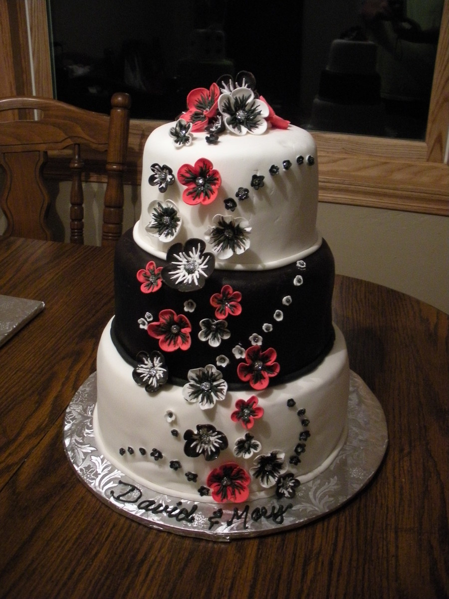 Black And White And Red on Cake Central