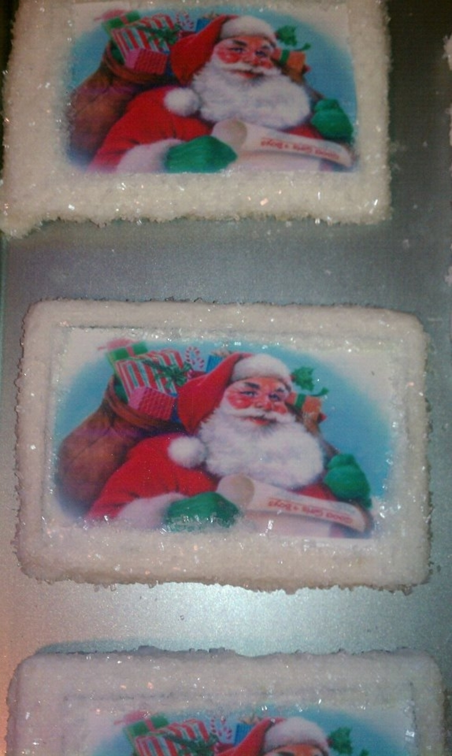 Santa Sugar Cookies  on Cake Central