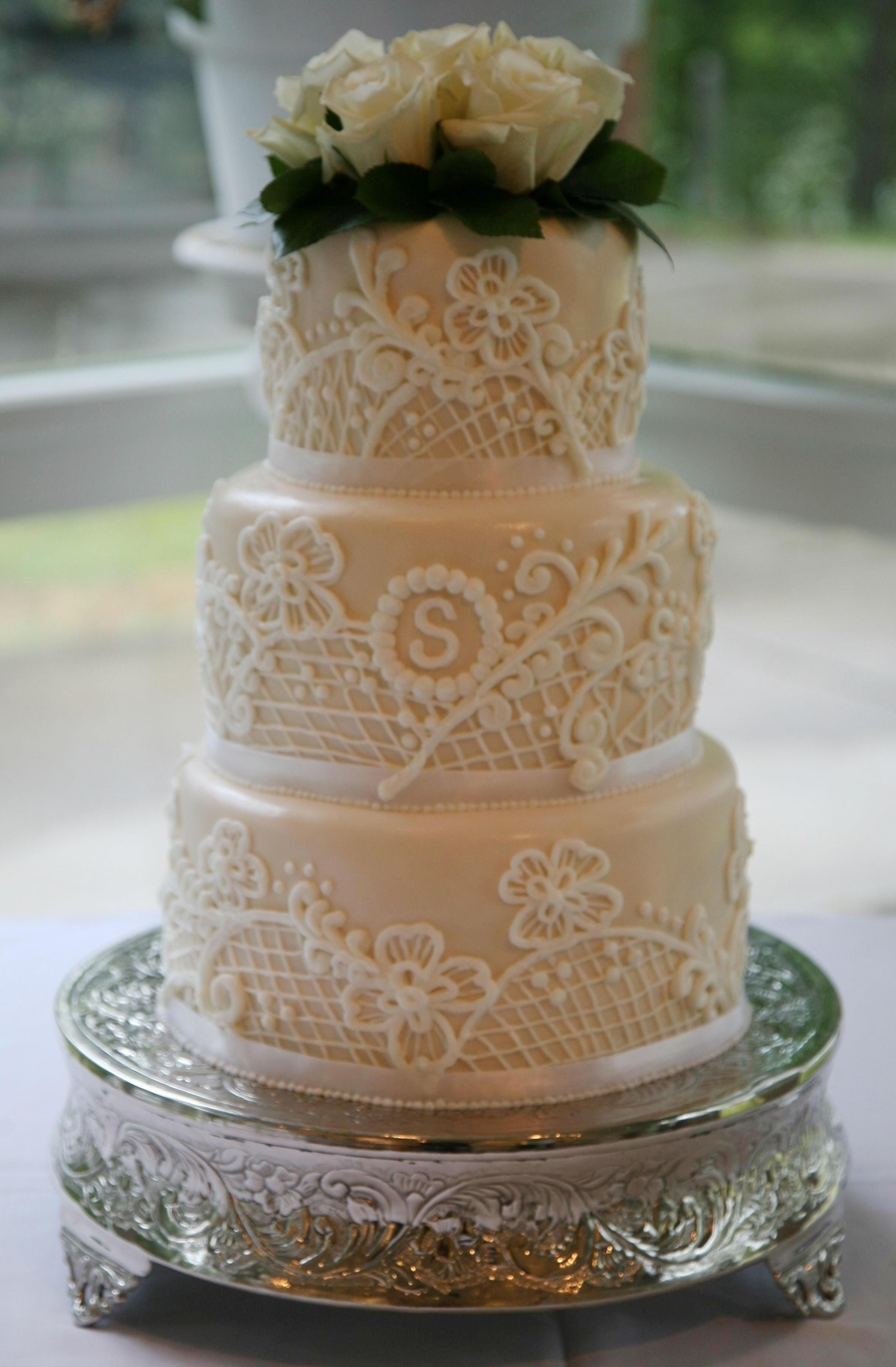 Lace Cake Cakecentral Com