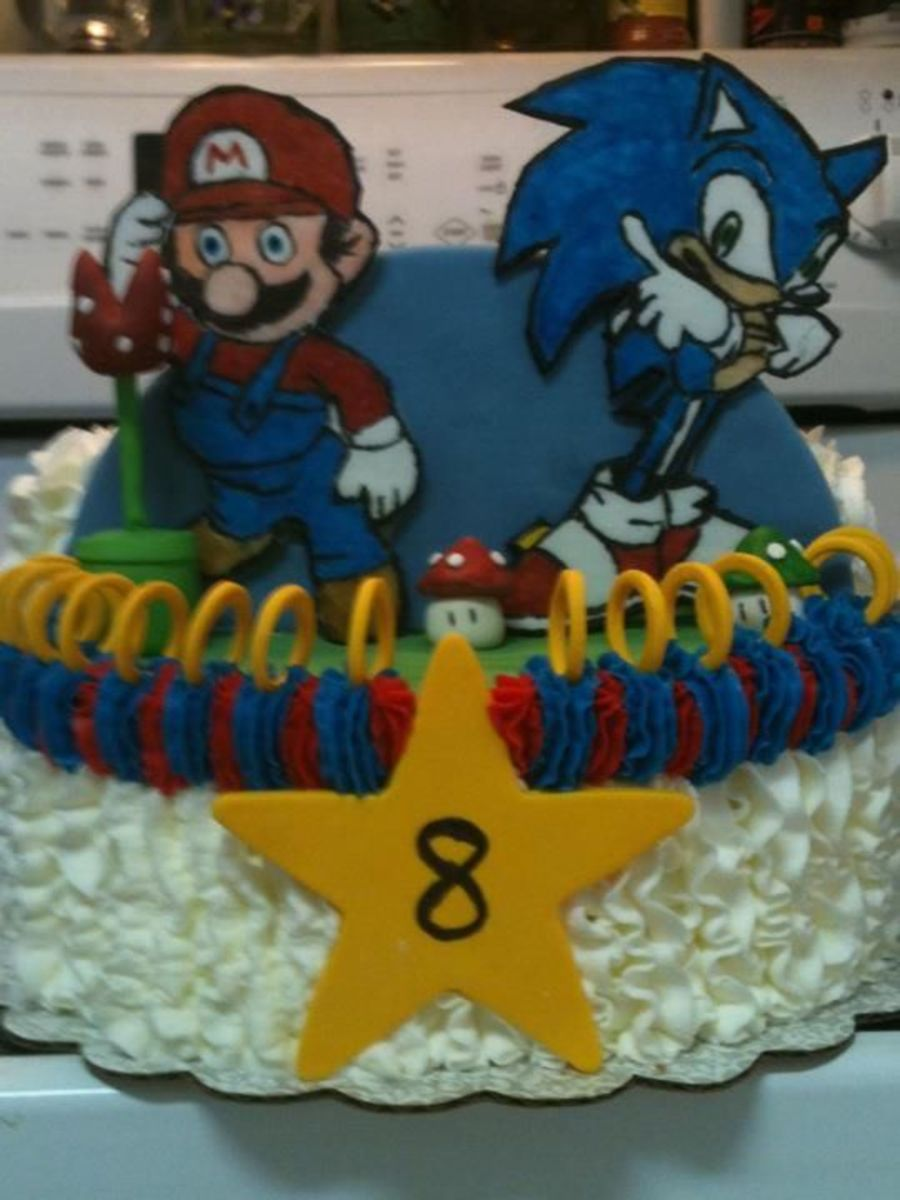 Mario Amp Sonic Cakecentral Com