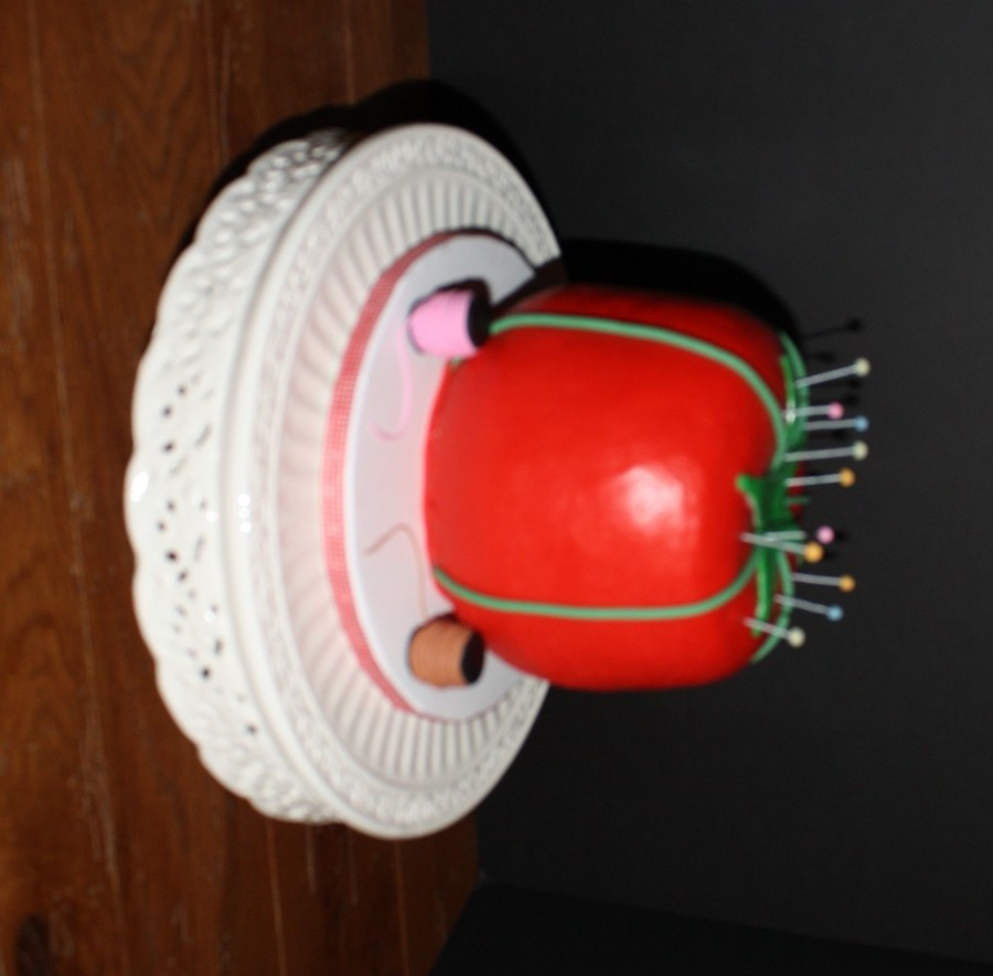 Tomato Pin Cushion Birthday Cake Cakecentral