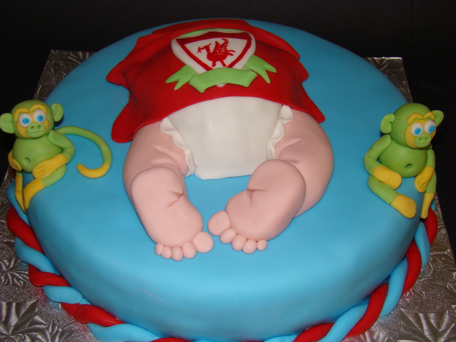 Baby Shower Cakes Liverpool ~ Liverpool baby shower cake cakecentral