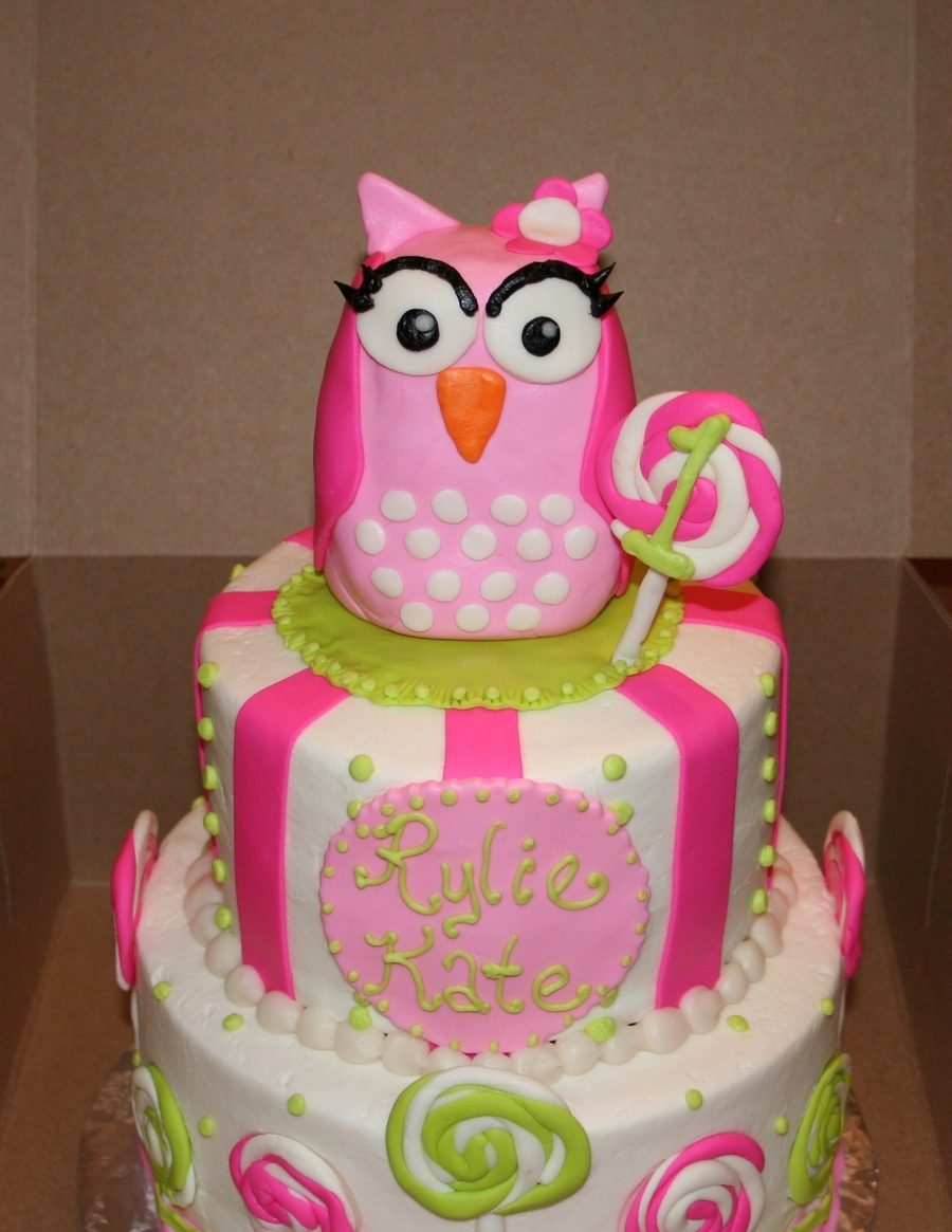 Pink Almond Party Cake Recipe