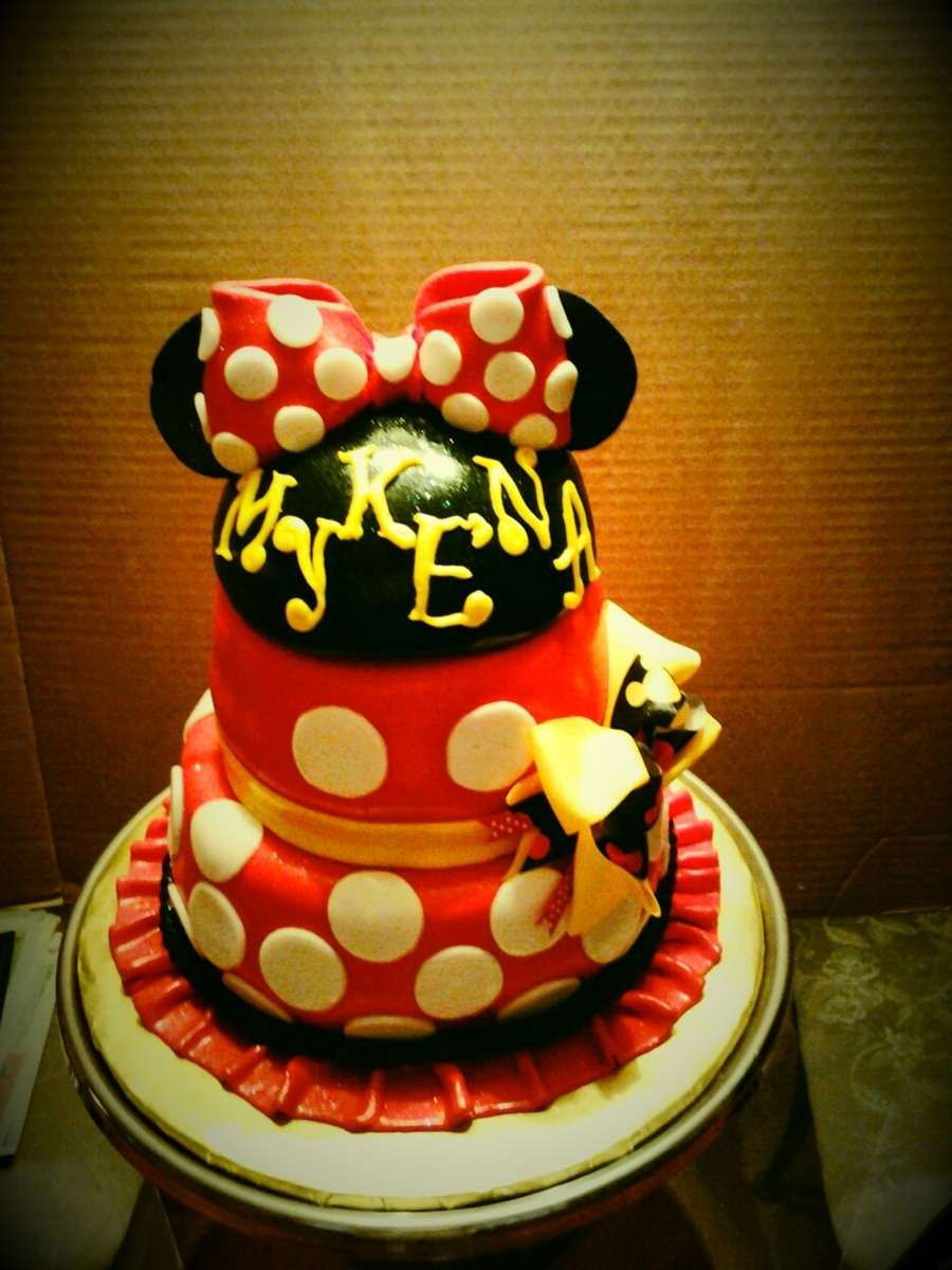 Minni Mouse Cake on Cake Central