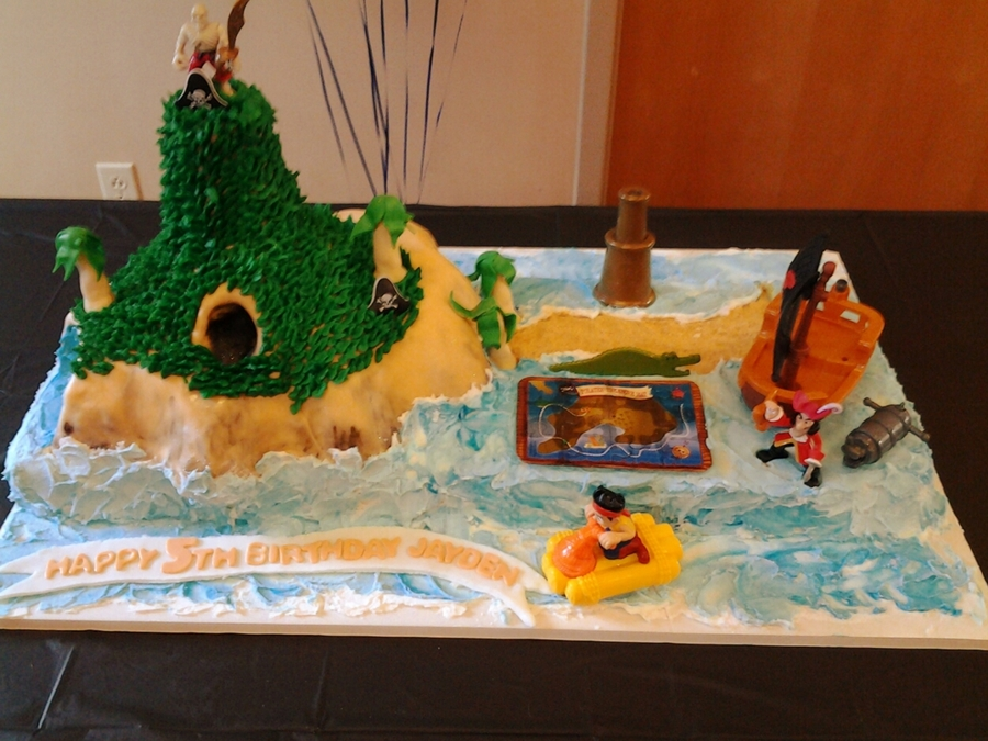 Jake And The Neverland!!! on Cake Central