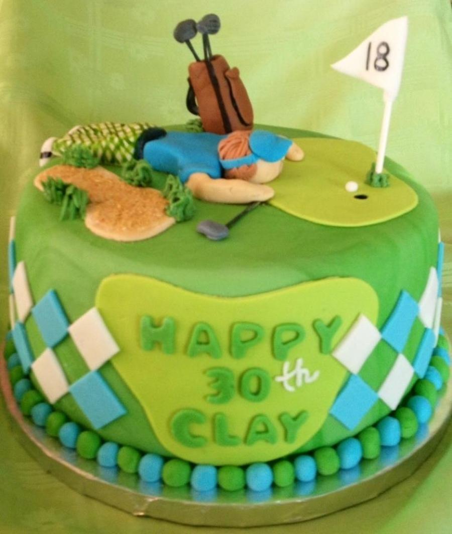 Golfer Cake Ideas
