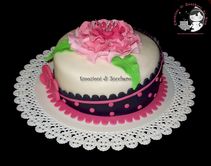 Romantic Flower Pink on Cake Central