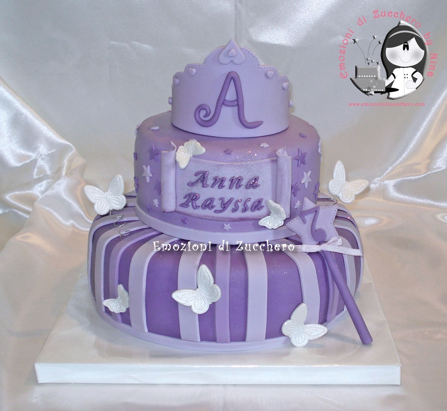 Purple Pincess on Cake Central