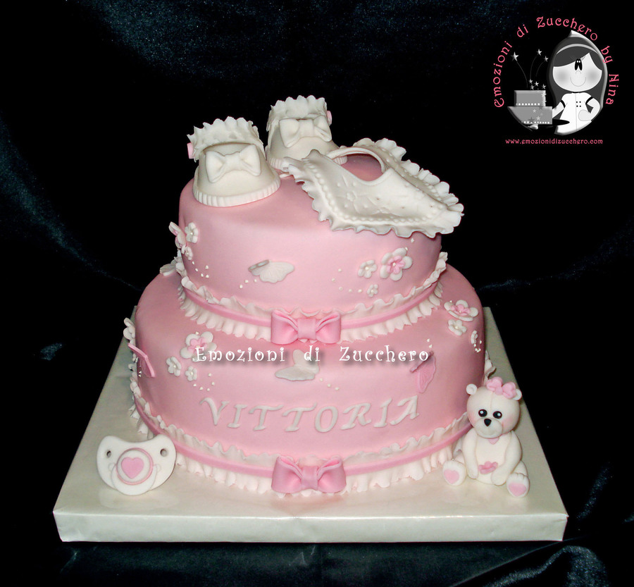 Baby Shower For A Girl on Cake Central