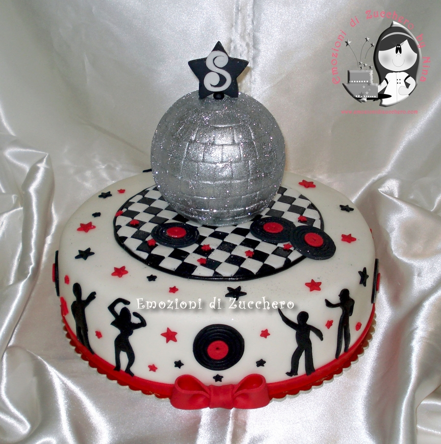 Disco 70's on Cake Central
