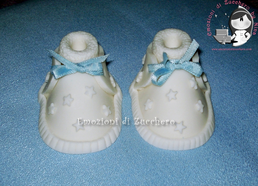 Baby Shoe on Cake Central