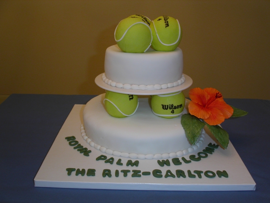 Tennis Ball Cake on Cake Central