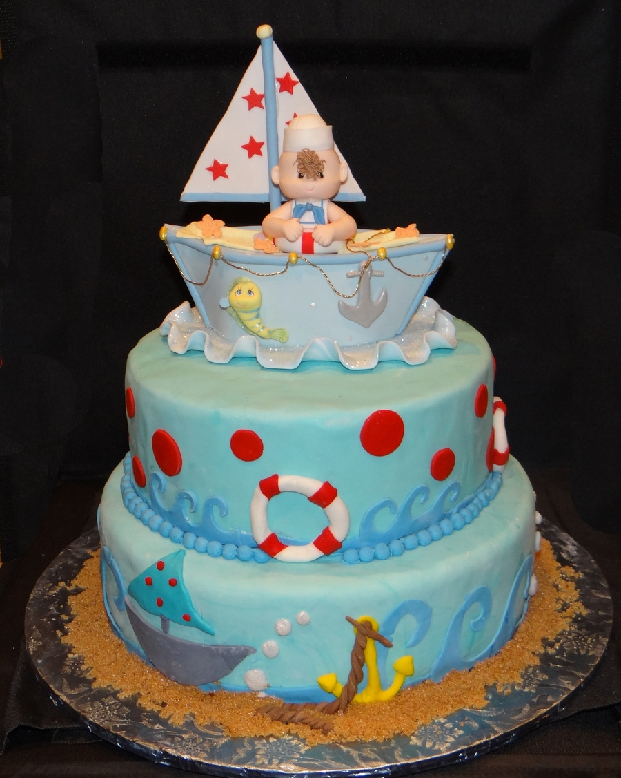 Sailor Baby Shower on Cake Central