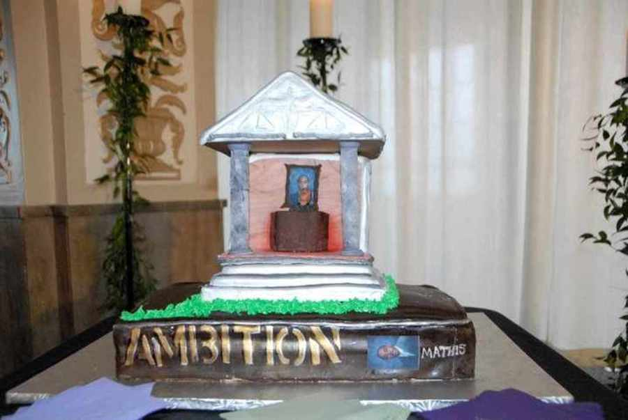 A Groom's Cake For A Lawyer.......... on Cake Central