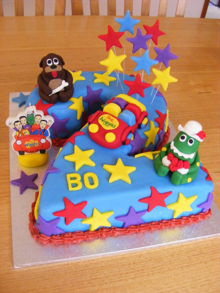 Images Of The Wiggles For Kids Cake