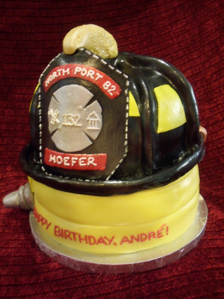 Amazing Firefighter Birthday Cakecentral Com Personalised Birthday Cards Veneteletsinfo