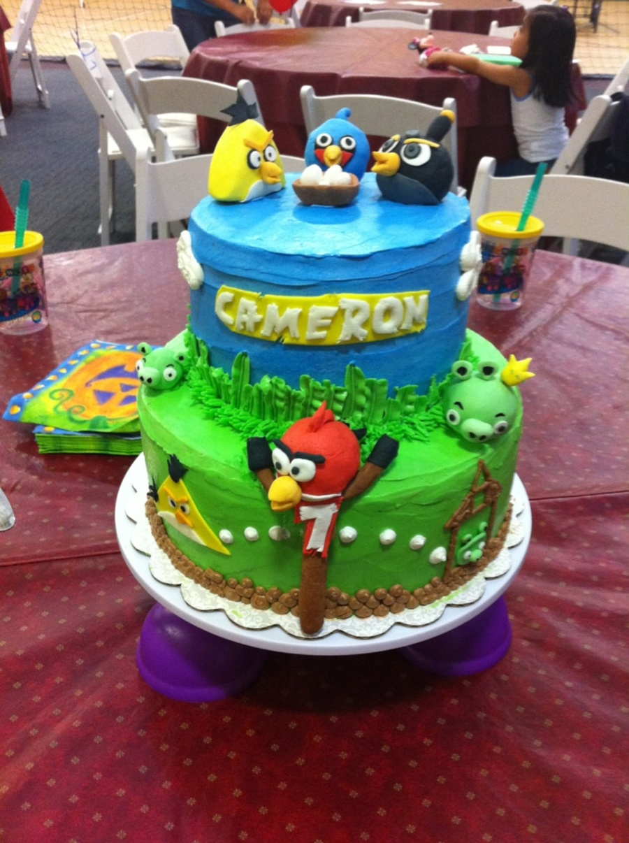 Angry Bird Birthday Day on Cake Central