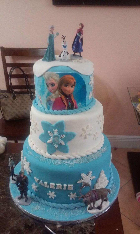 Frozen Birthday Cake For My Granddaughter 3 Birthday Thanks To