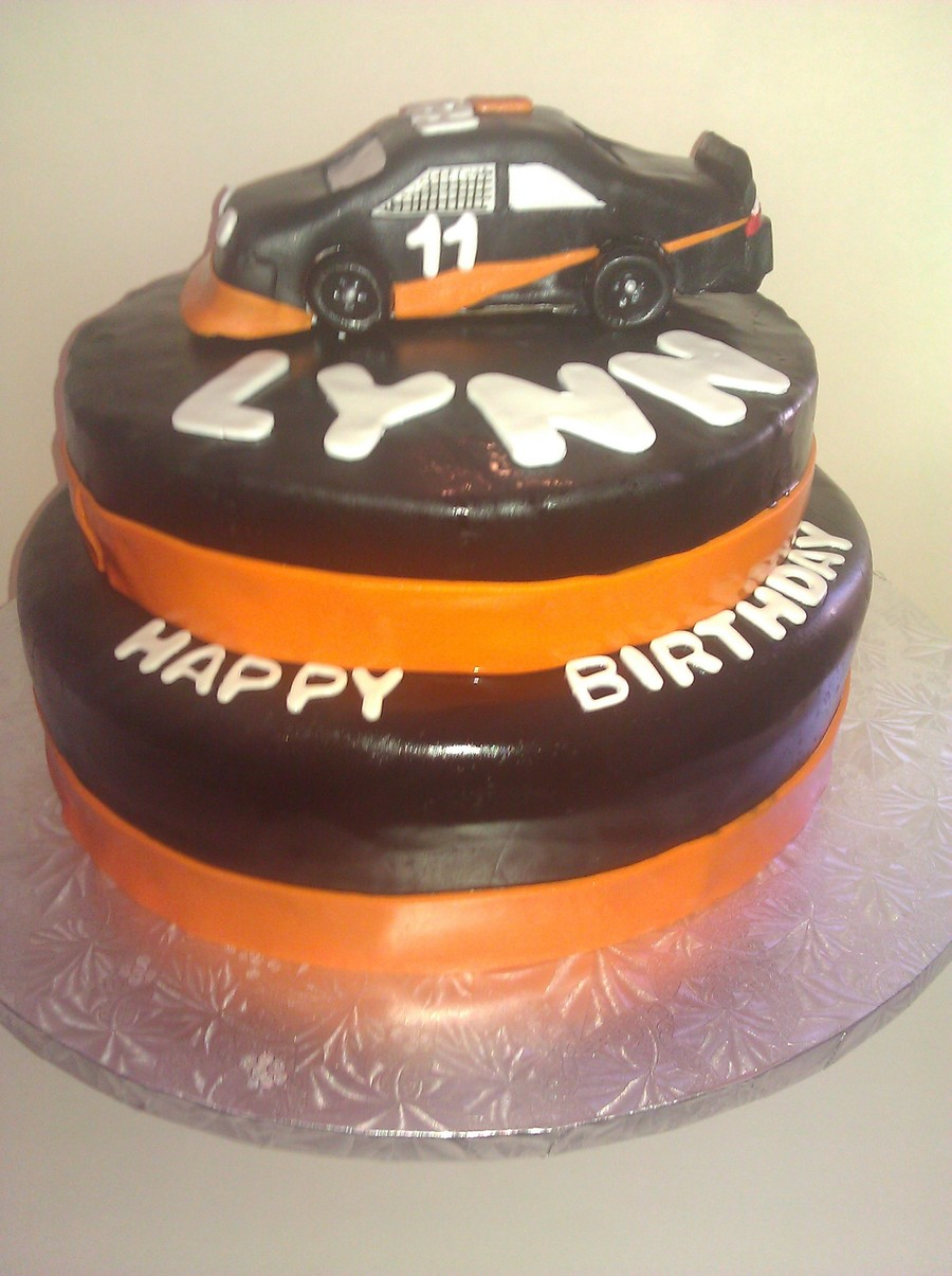 Fedex Race Car Cake on Cake Central