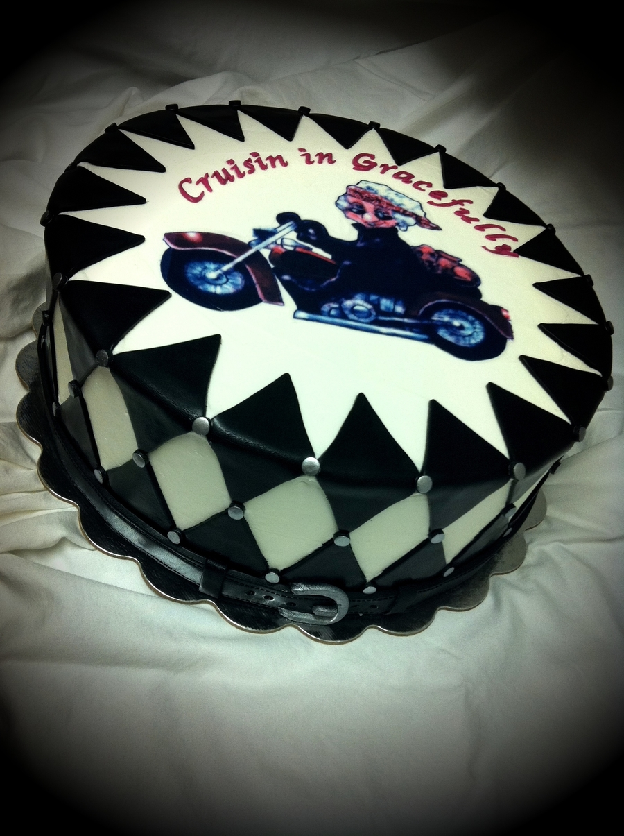 Harley Lady on Cake Central