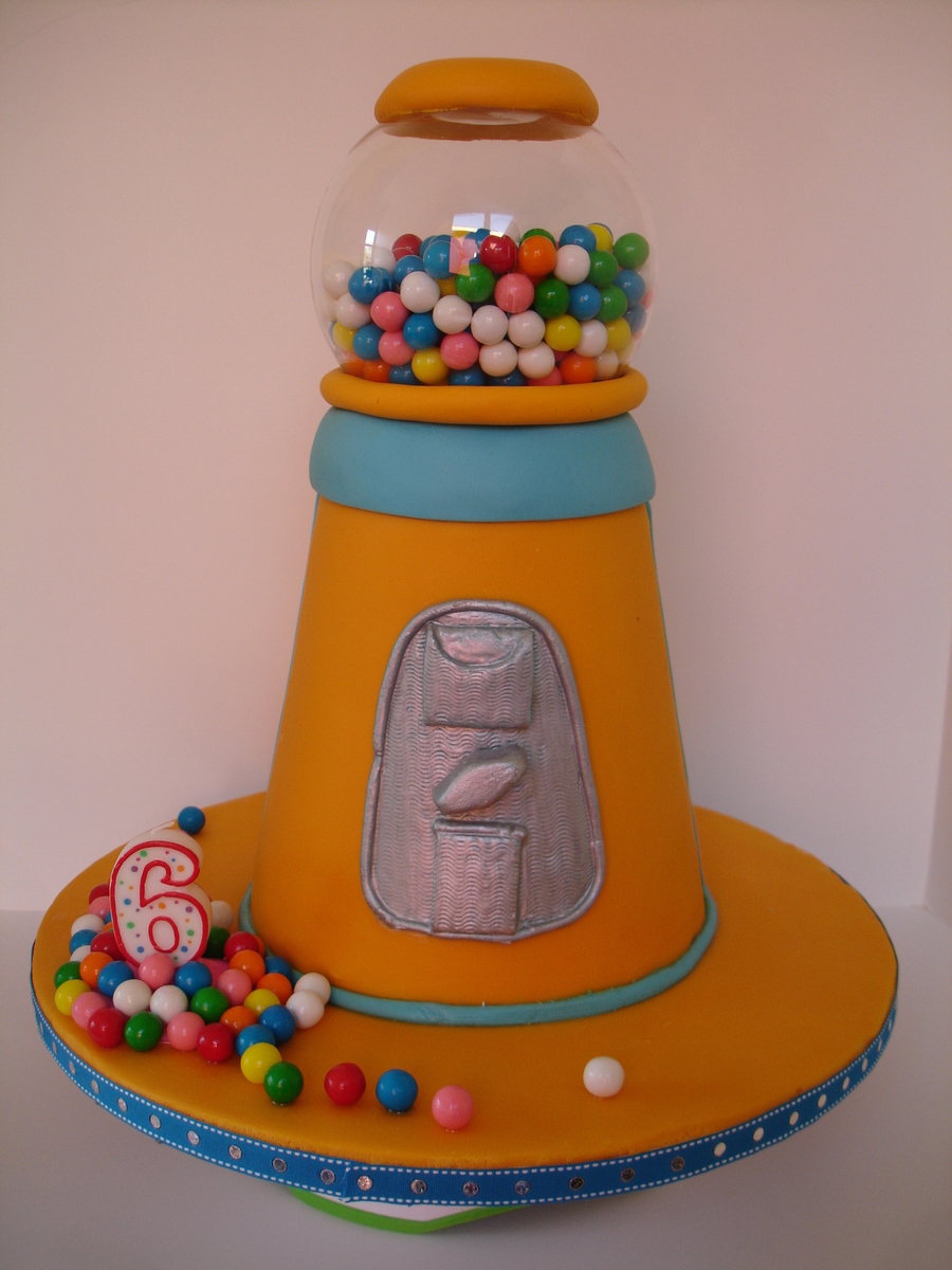 Gumball Machine on Cake Central