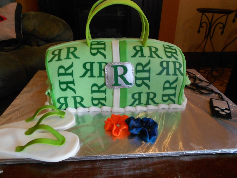Hand Bag on Cake Central