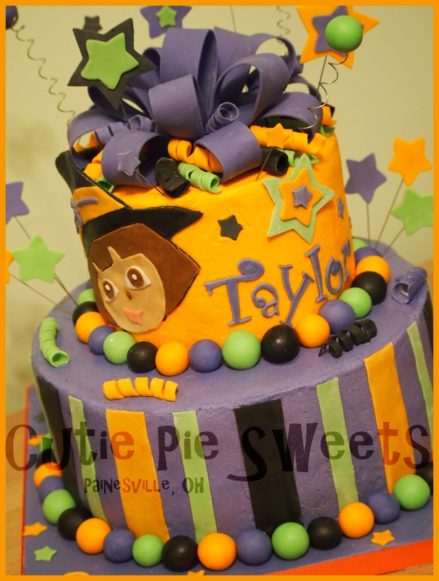 Halloween Dora Cake on Cake Central