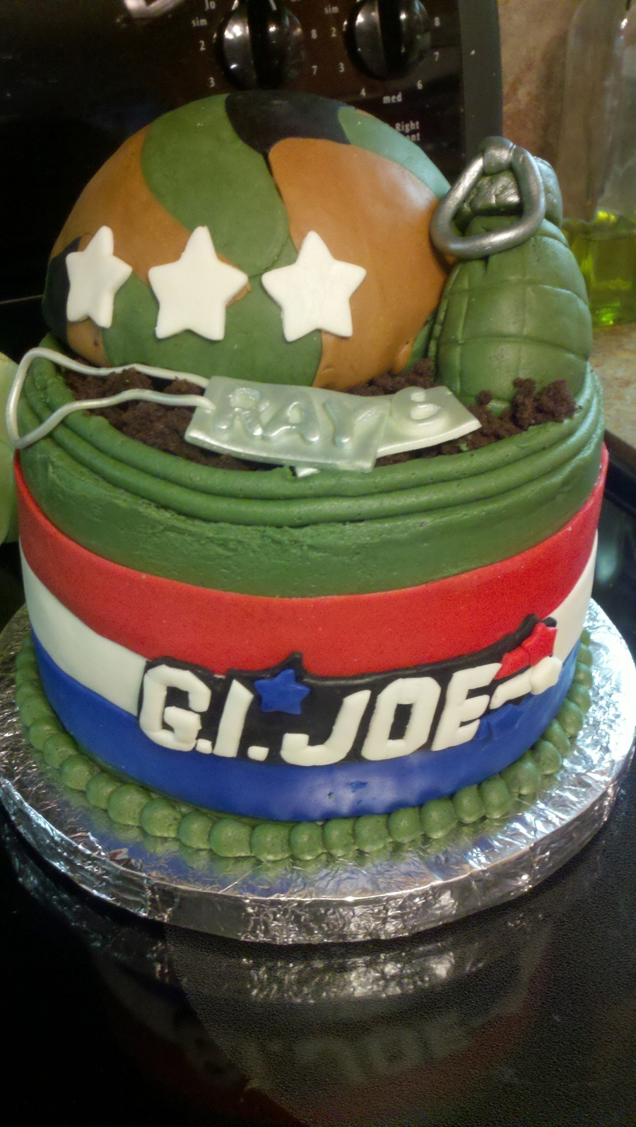 G I Joe Birthday Army Cake Cakecentral Com