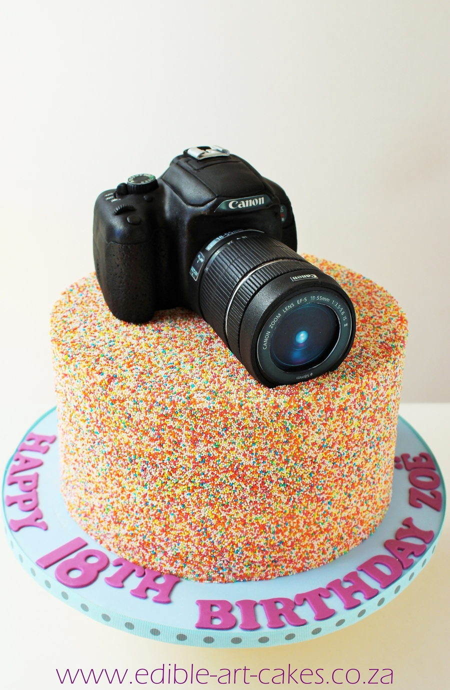 Had So Much Fun Creating This Sprinkles Camera Birthday Cake Camera Is All Edible on Cake Central