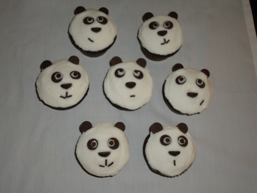 Panda Cupcakes on Cake Central