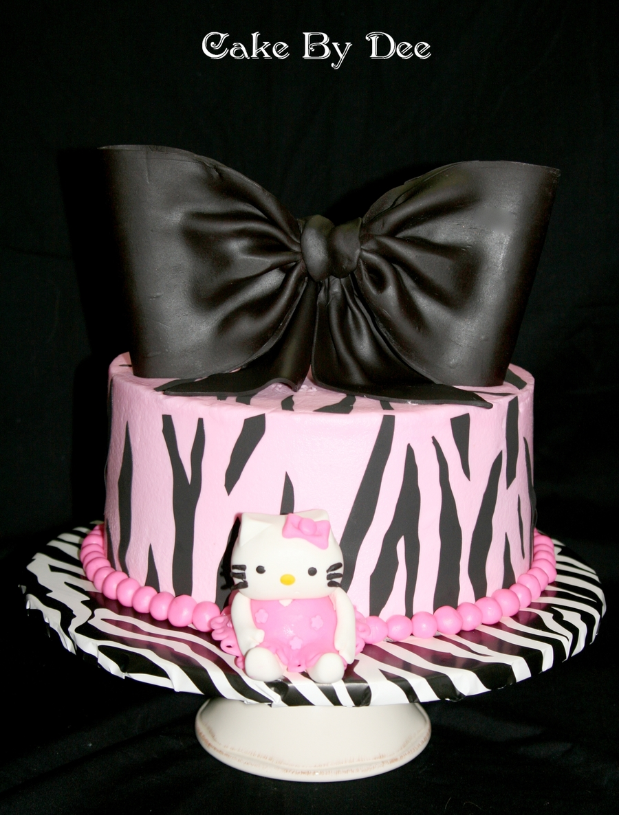 Hello Kitty Baby Shower Cake Cakecentral Com