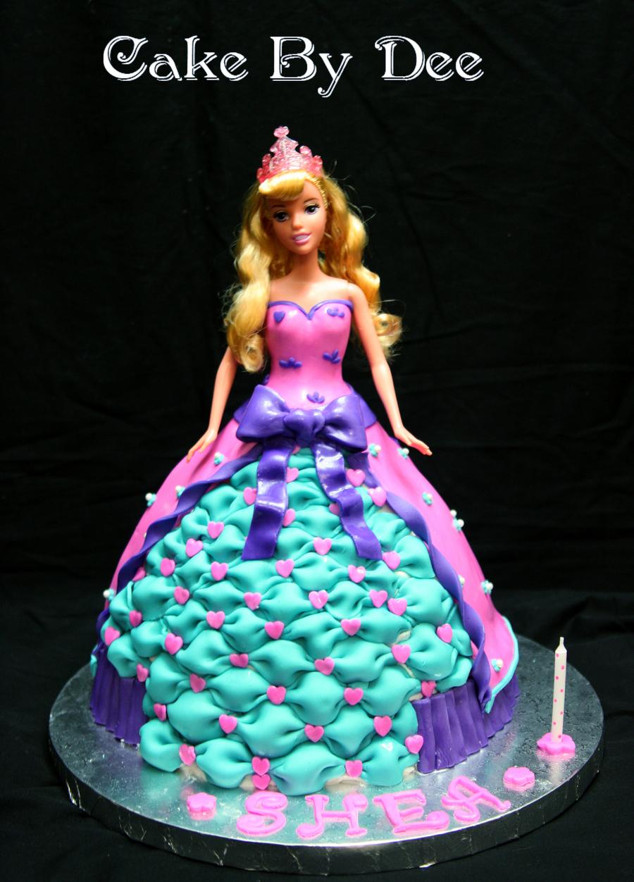 Princess Aurora Birthday Cake CakeCentralcom