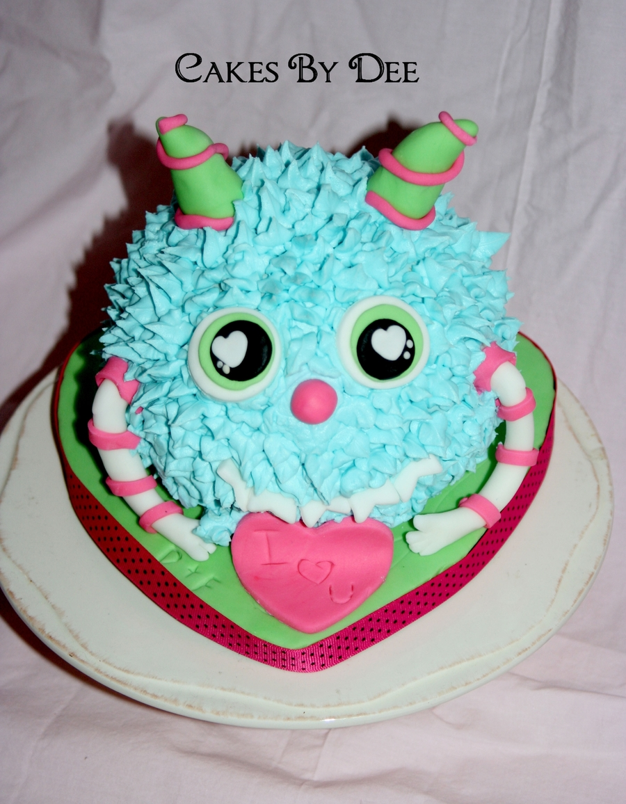 Love Monster on Cake Central