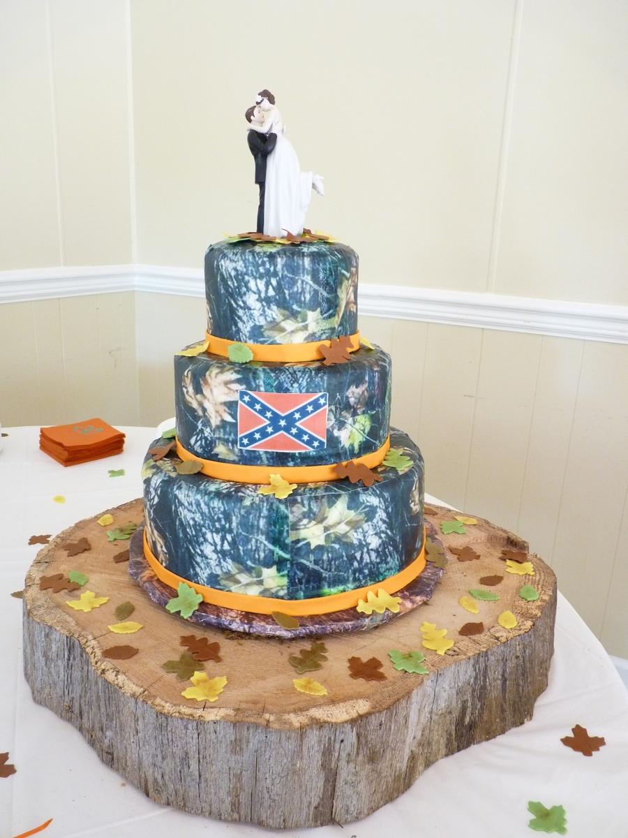 Redneck Wedding Cake - CakeCentral.com