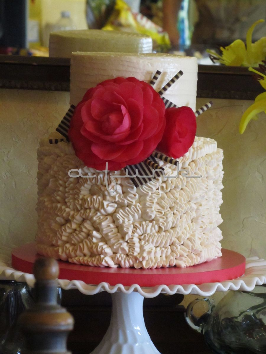 Camellia Cake  on Cake Central