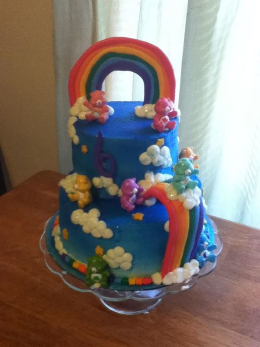 Care Bears Birthday Cake on Cake Central