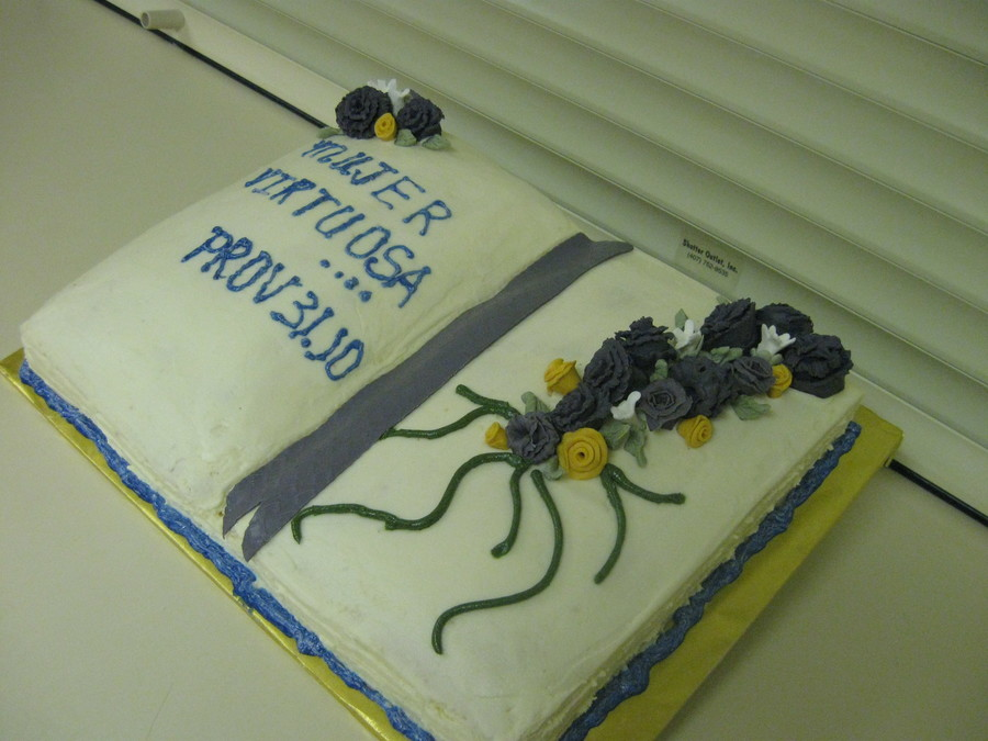 Virtuous Woman Proverbs 31:10 on Cake Central