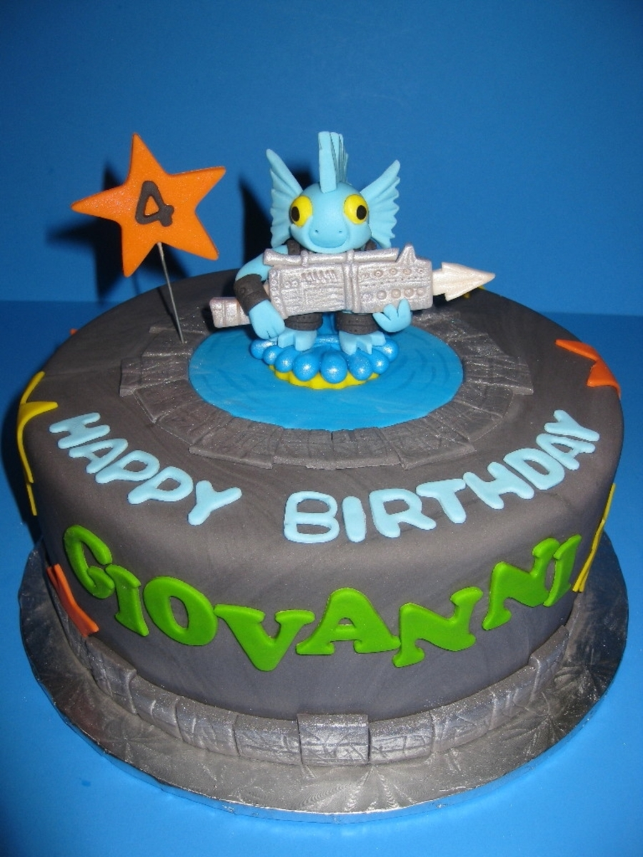 Skylander Birthday Cake Recipe